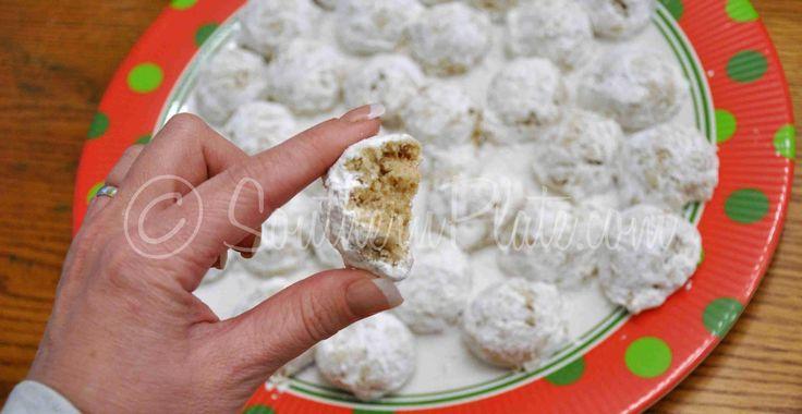 Pecan Nougat Cookies