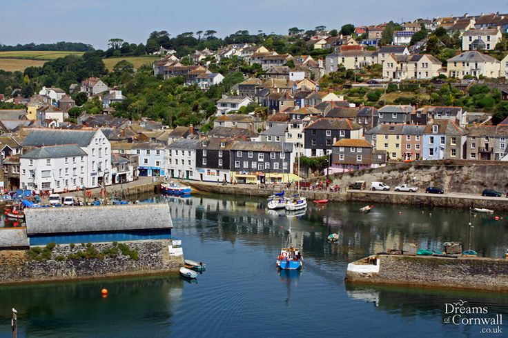 Mevagissey harbour, Mevagissey, near Gorran Haven, St Austell, South Cornwall