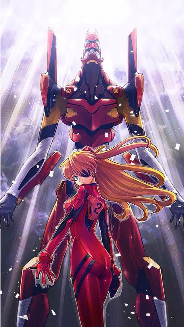 Neon Genesis Evangelion: Asuka & Unit-02