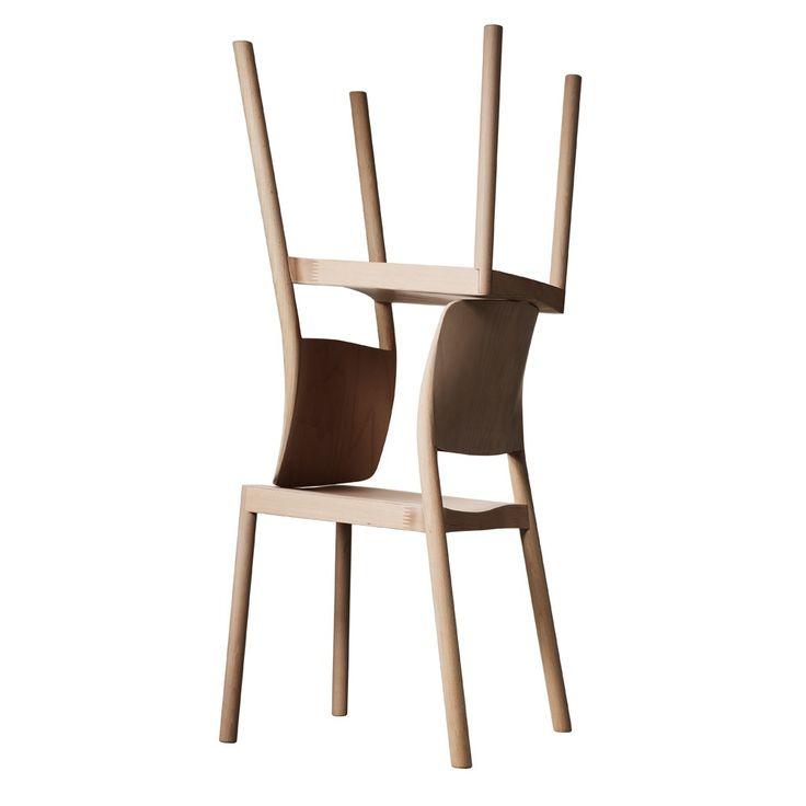 Svenssons i Lammhult - Möbler - Stolar / Grace stol / ask natur