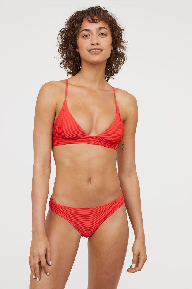 d6c0c53fce7ac Triangle Bikini Top - Bright red - Ladies