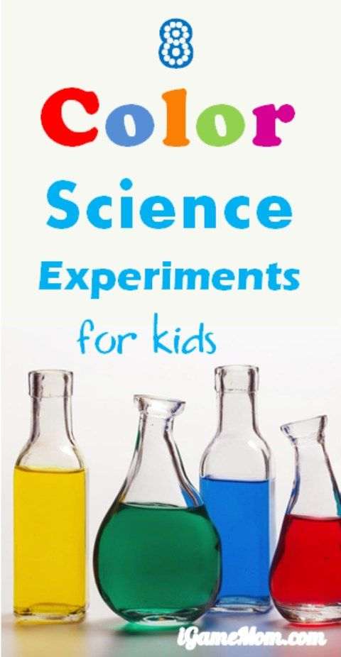 8 fun science activities for kids about colors. They are so easy and so fun that the youngest kids will be able to do and enjoy. Great STEM activities for kids of all ages at home or at school. They are also great to add to your homeschool curriculum.