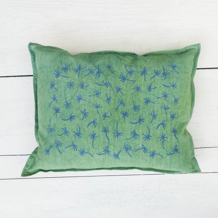 Cuscini palmine verdi