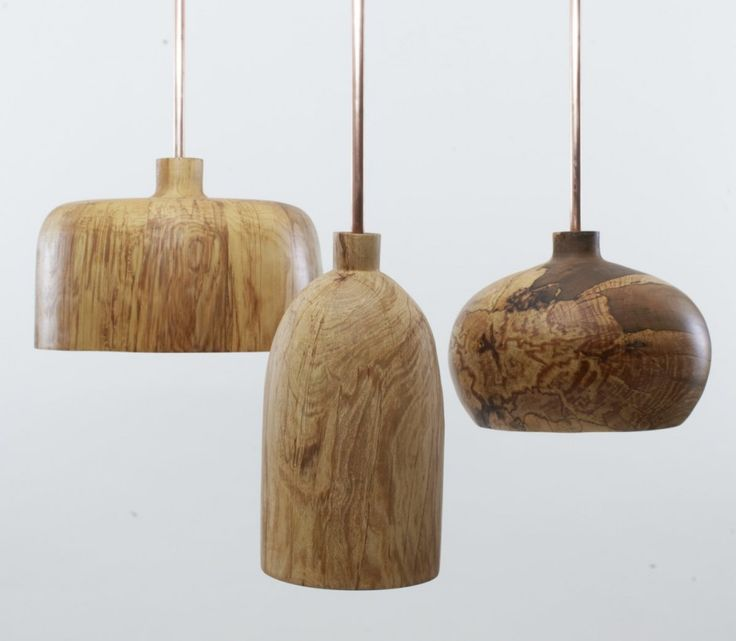 [Tamasine Osher] Although these pure shaped pendants would go well with just about any decor, they would be marvellous with a 'nature design' theme.