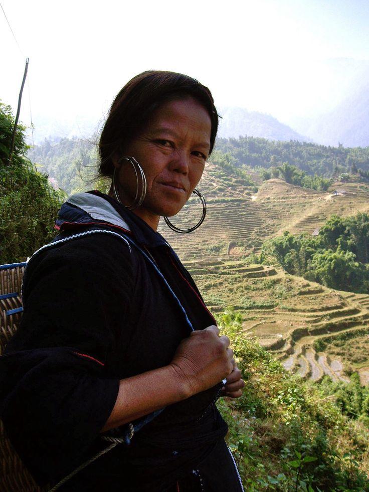 Sapa, provincia de Lào Cai en el noroeste de Vietnam.