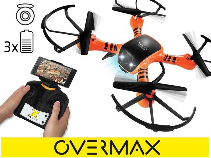 Dron Overmax X Bee Drone 3.5 kamera FPV WI-FI LED