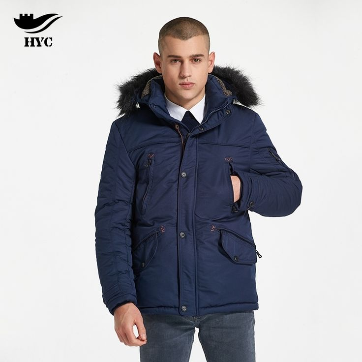 70.00$  Watch now - HYC Trench Tactical Jacket Large Sizes Men Parka Fur Hood Cheap Coats Mens Windbreaker Anorak Military Fashion Pockets 9920  #aliexpressideas