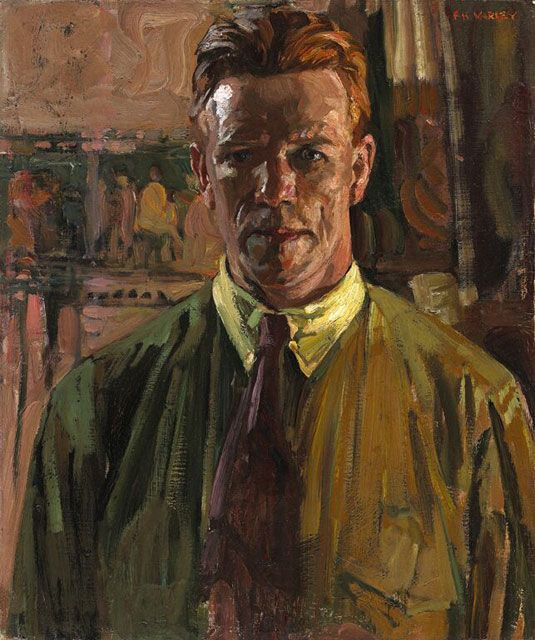 F. H. Varley - Self-Portrait, 1919 Frederick Horsman Varley, also known as Fred Varley (January 2, 1881 – September 8, 1969), was a member of the Canadian Group of Seven artists.