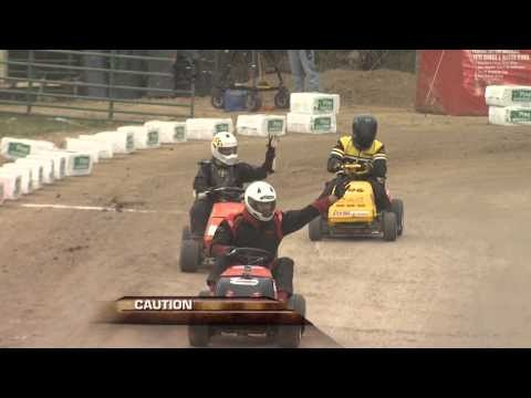 "Fox Sports Net ""Race Freaks"" features the SP Class Championship Race at the 2012 STA-BIL Keeps Gas Fresh Finals, to determine the U.S. Lawn Mower Racing Association National Lawn Mower Racing Points Championship."