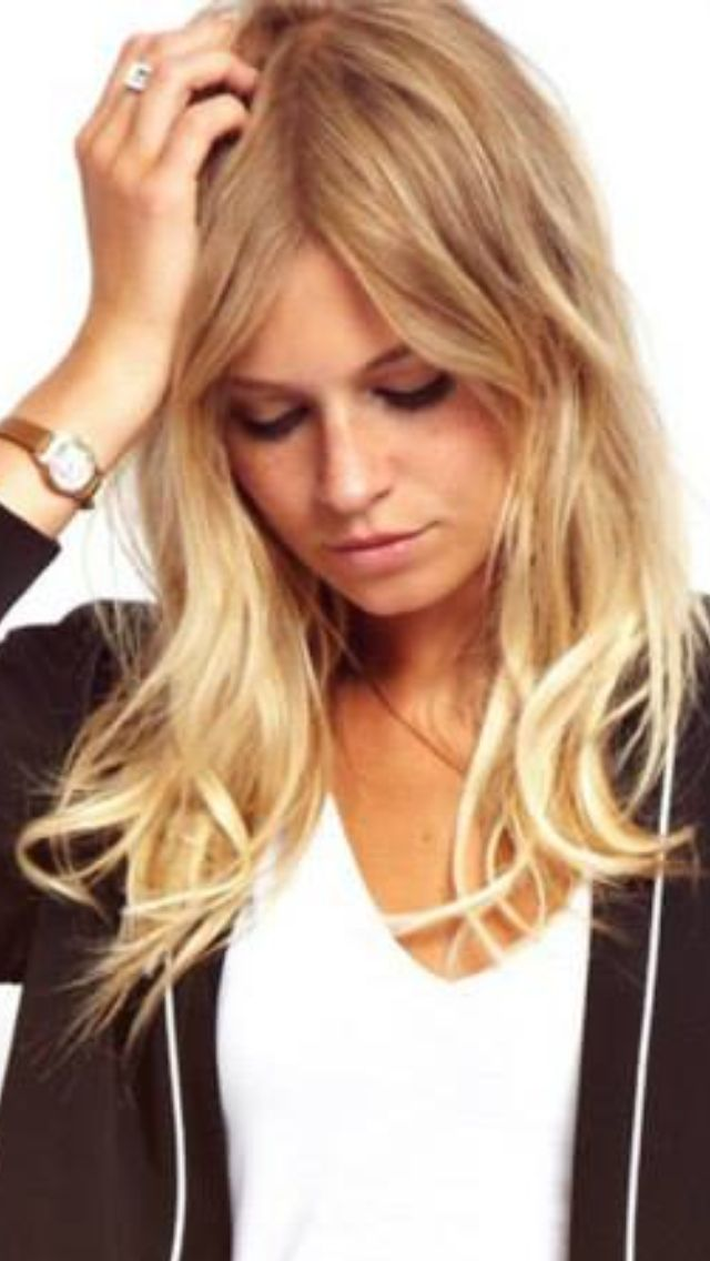 Blonde dip dye | Hair | Pinterest | End of, Bleach and Dips