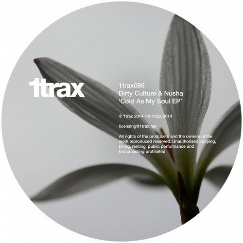 Dirty Culture & Nusha - Cold As My Soul EP on 1trax ! Get the grooves from Beatport.