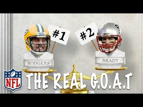 Why Aaron Rodgers is the Real G.O.A.T Over Tom Brady 🐑  | NFL Rush - YouTube