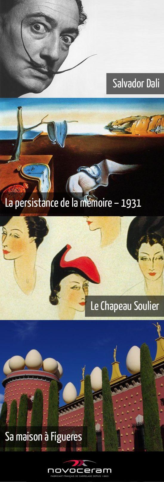 Hommage au personnage le plus épique et engagé du XXème siècle, Salvador #Dali, dont l'oeuvre prolifique, à la fois controversée et populaire, compte parmi les plus importantes du mouvement surréaliste. Plus d'informations : http://www.novoceram.fr/blog/news/dali-au-centre-pompidou #DESIGN #ARCHITECTURE #SalvadorDali