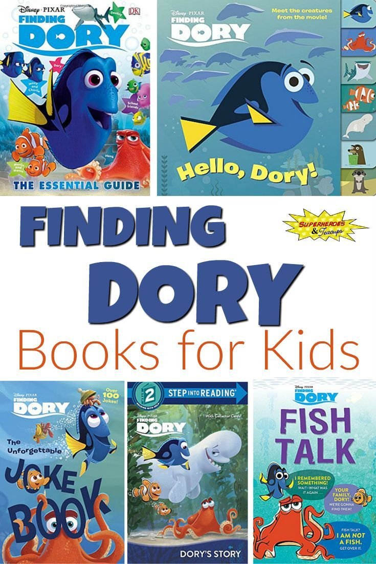 Finding dory books for kids finding dory books and for Fish children s book