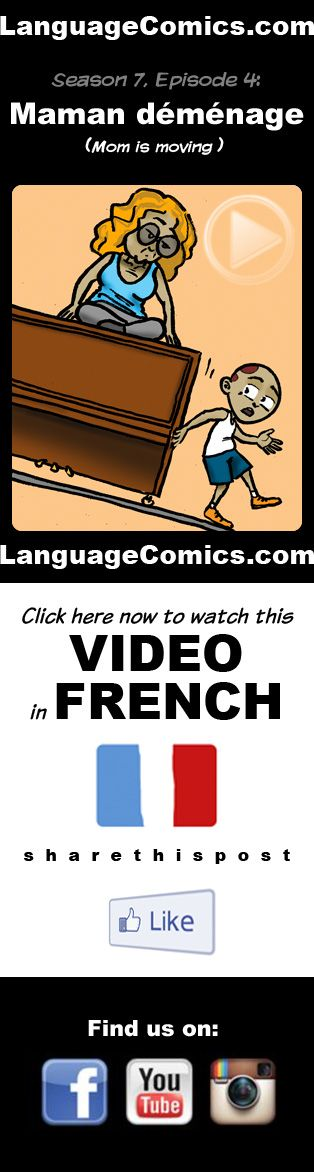 #French practice and pronunciation. Enjoy and share! https://www.youtube.com/watch?v=dulg6nj8SdE