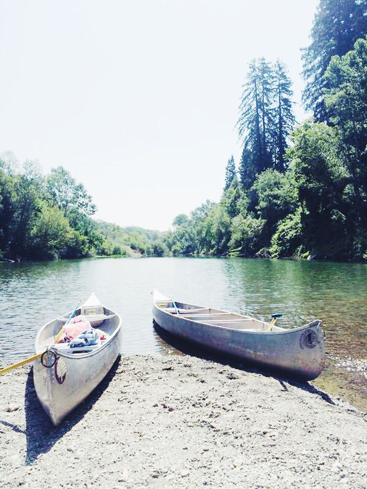 DAY TRIP :: RUSSIAN RIVER CANOE TRIP