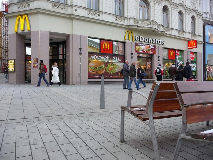 Brno (Czech Republic). Piazza della Libertà.