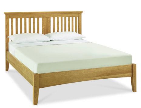 Hampstead Oak Bedstead - Single, Double or King Size