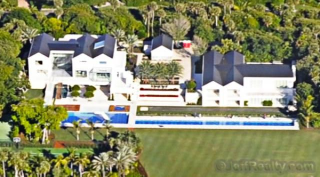 What is Tiger Woods' House and Practice Facility Like?: Tiger Woods' Estate in Jupiter Island