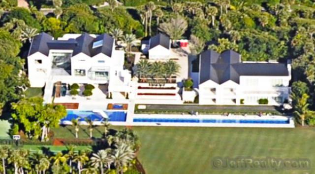 Tiger Woods Estate in Jupiter Island, Florida