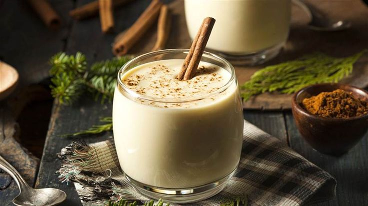 Cut the calories and fat this Christmas with this lightened up eggnog recipe from nutrition guru Joy Bauer.