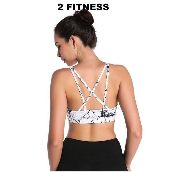 Womens Fitness Bras- Gym Running Padded Yoga