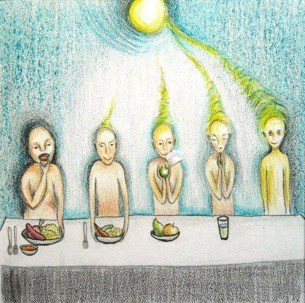 Как ешь, так и живешь.  <br>Не насилуй себя, просто соблюдай <br>12 правил питания