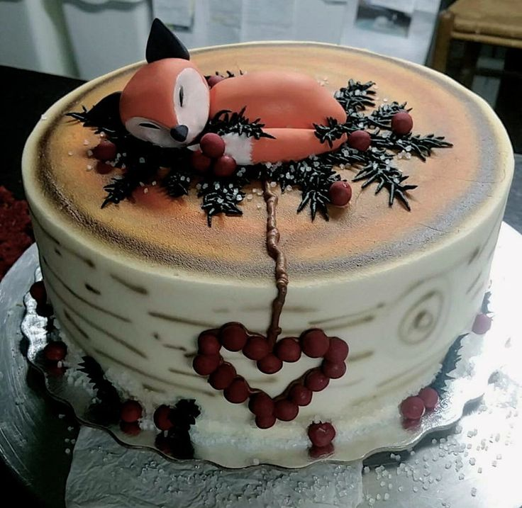 Sleeping Fox Cake by BrightlyWound455 trendy family must haves for the entire family ready to ship! Free shipping over $50. Top brands and stylish products �