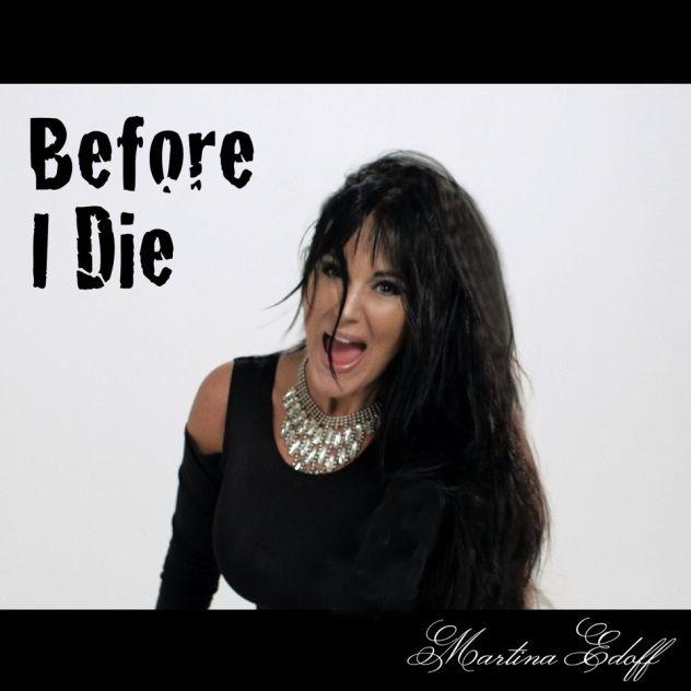 """#Martinaedoff är aktuell med nya singeln """"Before I Die""""  """"Before I Die"""" är Martinas tredje singel från hennes självbetitlade album, singeln handlar om att ta vara på sitt liv och leva det fullt ut.  www.martinaedoff.com"""