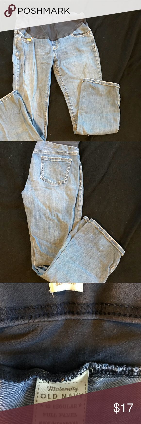 Old navy maternity jeans Old navy maternity jeans Old Navy Pants Straight Leg
