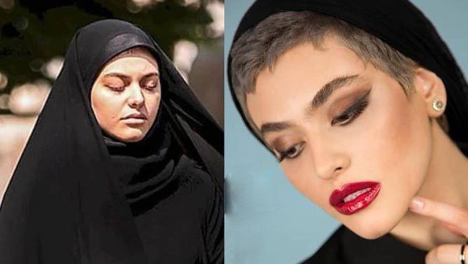 واکنش نسیم ادبی به حواشی ریحانه پارسا خیلی دختر خوشگلیه فیلم Persian Girls Female Mohawk Disney Dresses