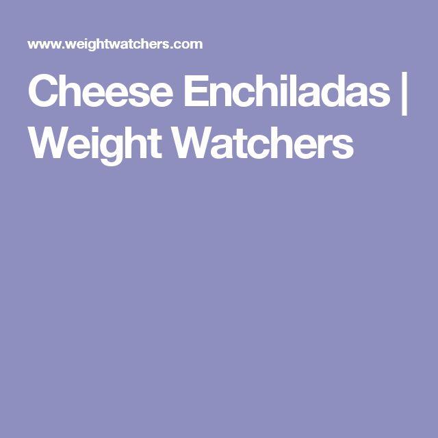 Cheese Enchiladas | Weight Watchers