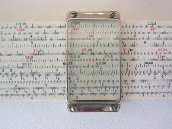 VINTAGE SLIDE RULE by thespectaclednewt on Etsy, $56.00