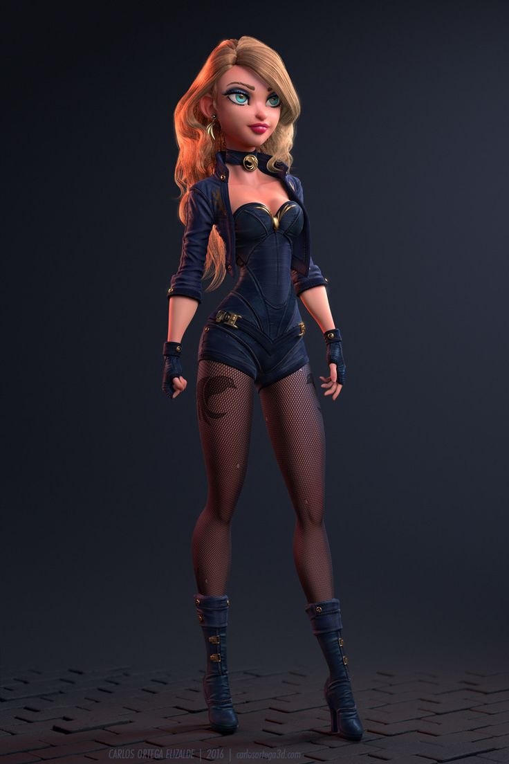A personal version of a character inspired by Black Canary, done last year as part of a collective excercise along with some colleagues to reimagine super heroes.  Done in Zbrush, render in Arnold & Maya, hair done with Ornatrix and post in Photoshop.  Thanks for watching!