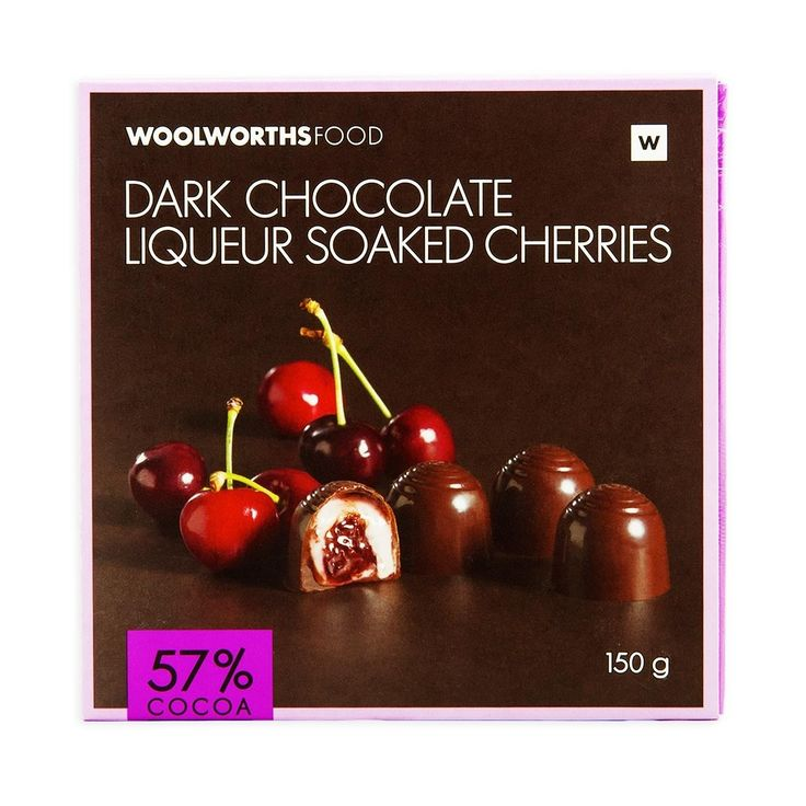 Dark Chocolate Liqueur Soaked Cherries 150g