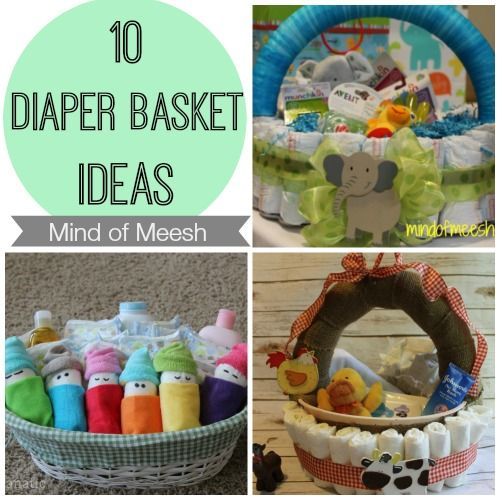 Best 25 diaper basket ideas on pinterest baby shower gifts for 10 diaper basket ideas anyone can make solutioingenieria Images