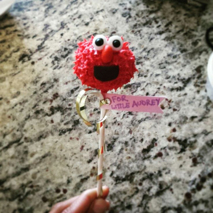 Red velvet little Elmo cake pop. | Cake pops and cakes | Pinterest ...