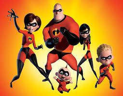 The Incredibles - watched 20/04/2014  Brilliant on a lazy Sunday afternoon.