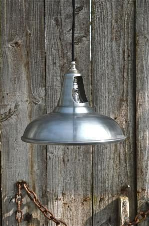 Vintage white zinc coolicon ceiling light by mjknobsandknockers