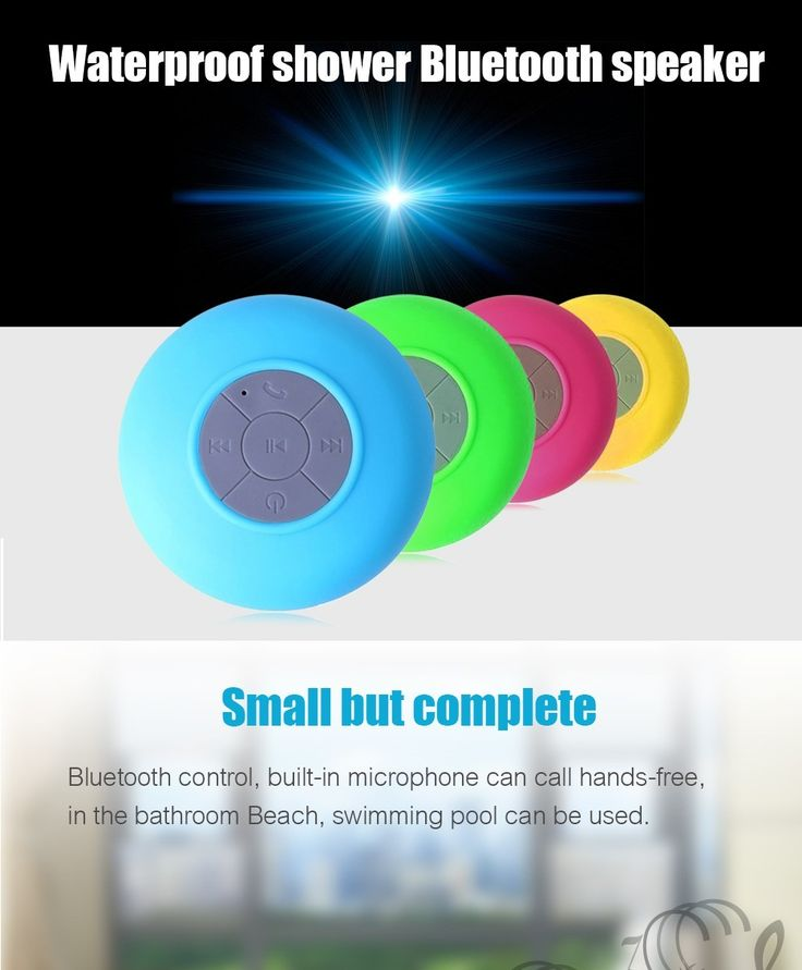 Portable Subwoofer Shower Waterproof Wireless Bluetooth Speaker Car Handsfree Call Music Suction Mic For IOS Android Phone  http://playertronics.com/products/portable-subwoofer-shower-waterproof-wireless-bluetooth-speaker-car-handsfree-call-music-suction-mic-for-ios-android-phone/
