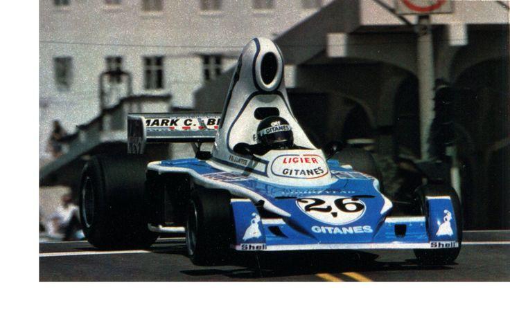 Jacues Laffite (Ligier-Matra) - Grand Prix des USA est - Long Beach 1976