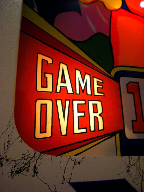 "Pacific Pinball Museum - ""Game over"""