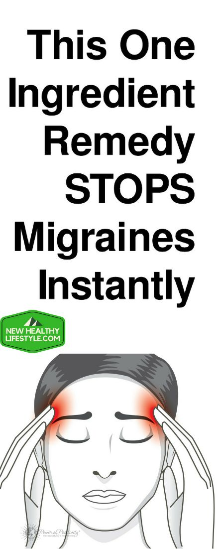 2-Ingredient Remedy To Stop Migraines And Headaches Instantly! – New Healthy Lifestyle