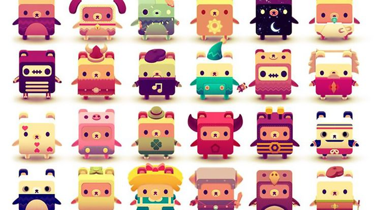 full collection of alphabears - Google Search