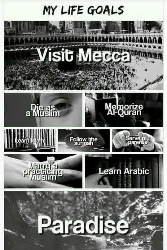 #TODO for a #Muslim