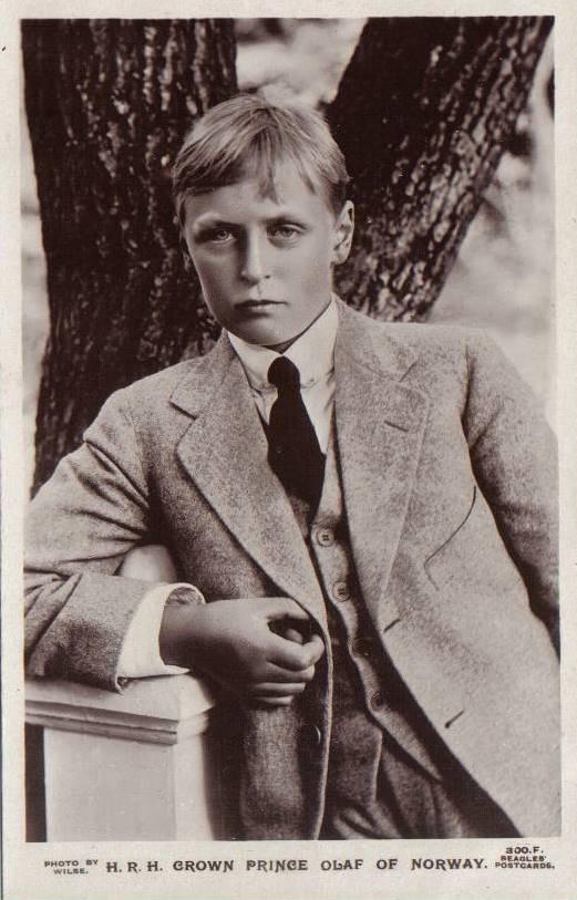 Prince Alexander Edward Christian Frederick of Denmark, King Olaf V of Norway