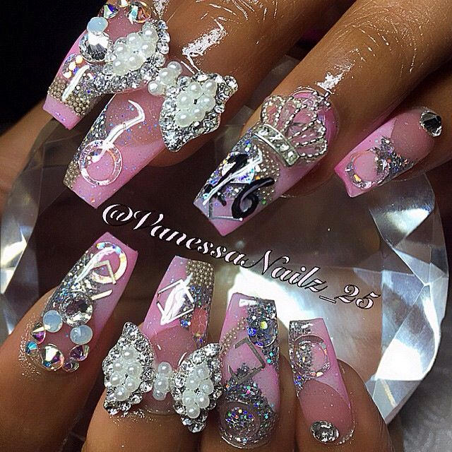 3d Nail Salon Fancy Nails Spa Game For Girls To Make Cute: 280 Best Decoración Sinaloa (bling Bling) Images On