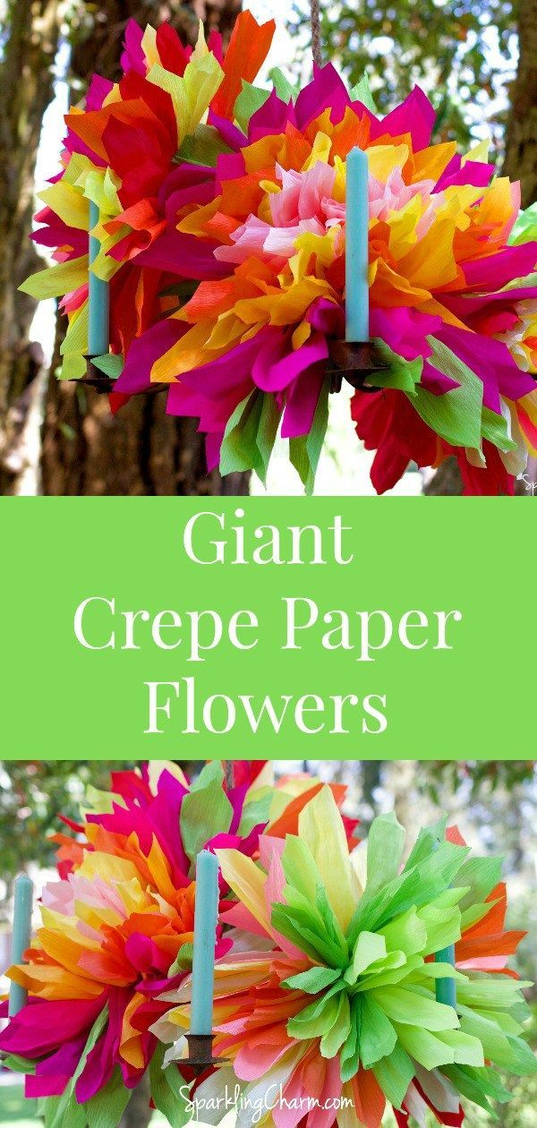 Cinco De Mayo Diy Crepe Paper Flowers Paper Flowers Mexican