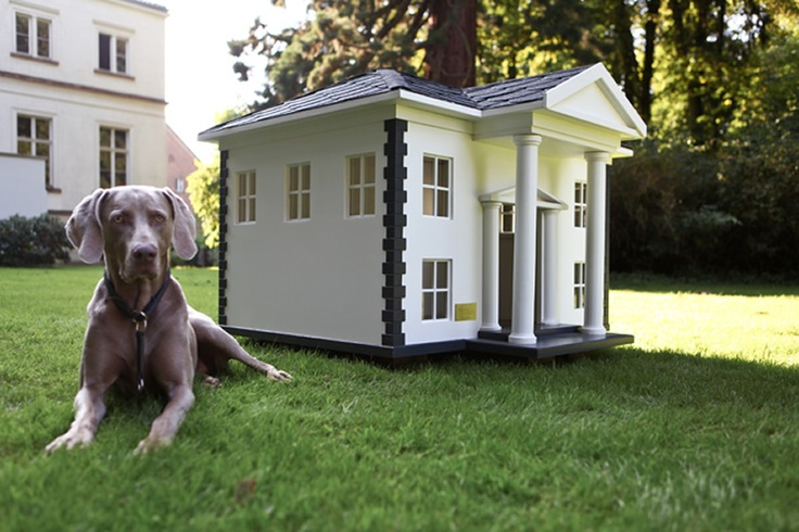DOG HOUSE – 4 Amazing Luxury Dog Houses by Best Friend's HOME | DigsDigs