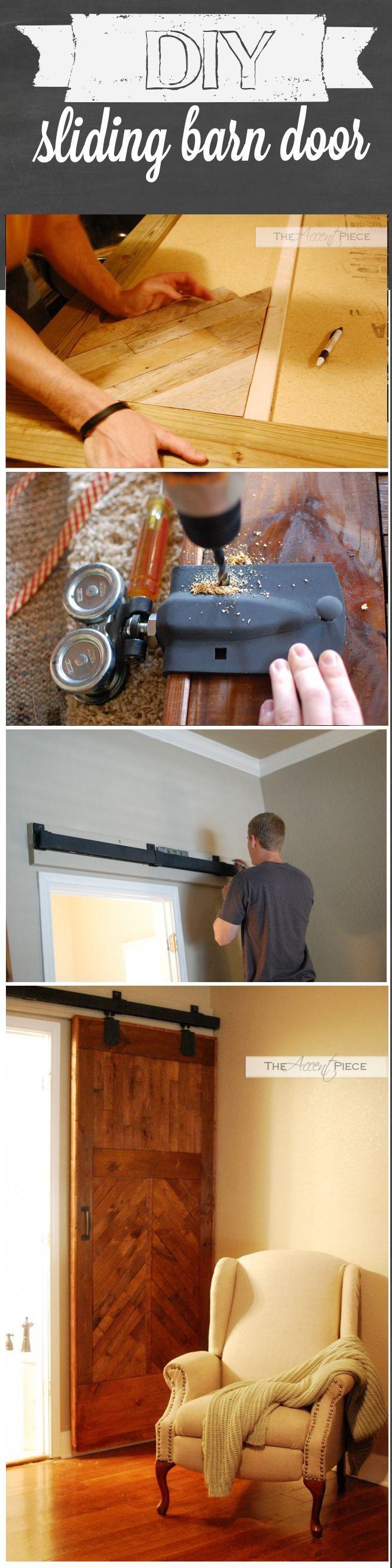 DIY Sliding Barn Door!